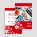 Kerstkaarten 2019 - Rode kerst 19504 thumb