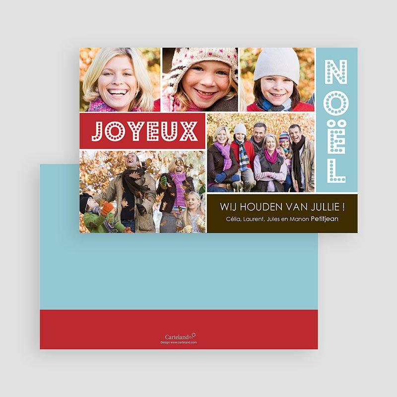 Kerstkaarten 2019 - Joyeux collage 19507 thumb
