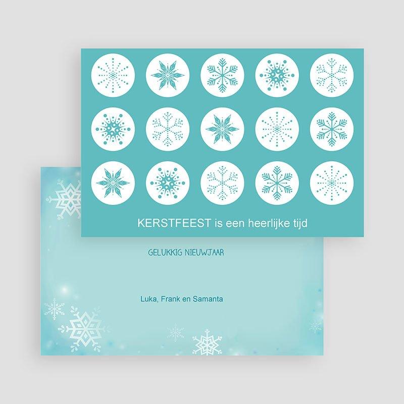 Kerstkaarten 2019 - Sneeuwkristallen 19532 thumb