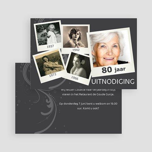 Verjaardagskaarten volwassenen - Polaroids van toen en nu 19607 thumb