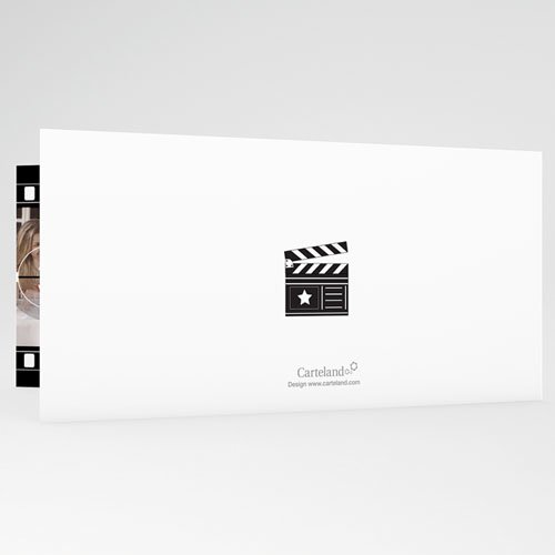 Zwart-Wit Trouwkaarten Net als in de film gratuit