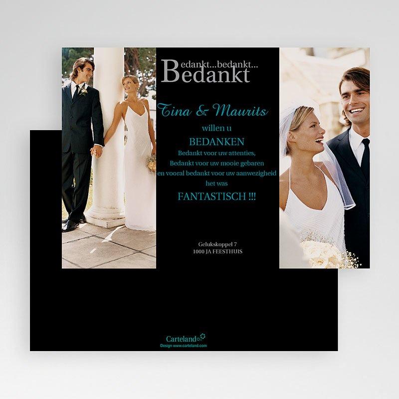 Bedankkaartjes huwelijk Onvergetelijke indruk gratuit
