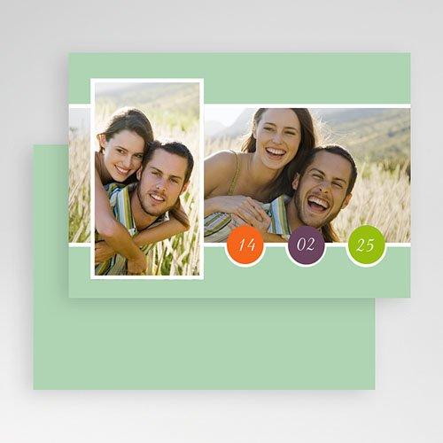 Fotokaarten met 2 foto's - Multifoto modern 2 foto's 19838 thumb