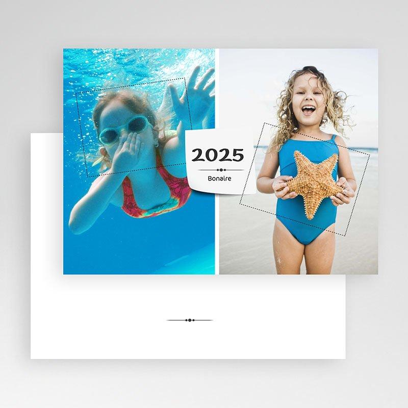 Fotokaarten met 2 foto's - vakantie groet met 2 foto's 19848 thumb