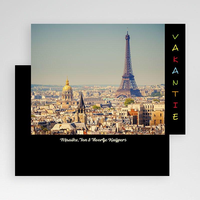 Fotokaart, 1 eigen foto - Vakantiegroetjes in kleur 19882 thumb