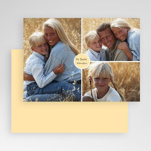 Multi fotokaarten, meerdere foto's Mooie fotokaart gratuit