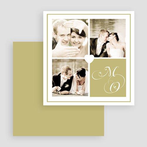 Multi fotokaarten, meerdere foto's - Multifoto liefde wit hart 19893 thumb