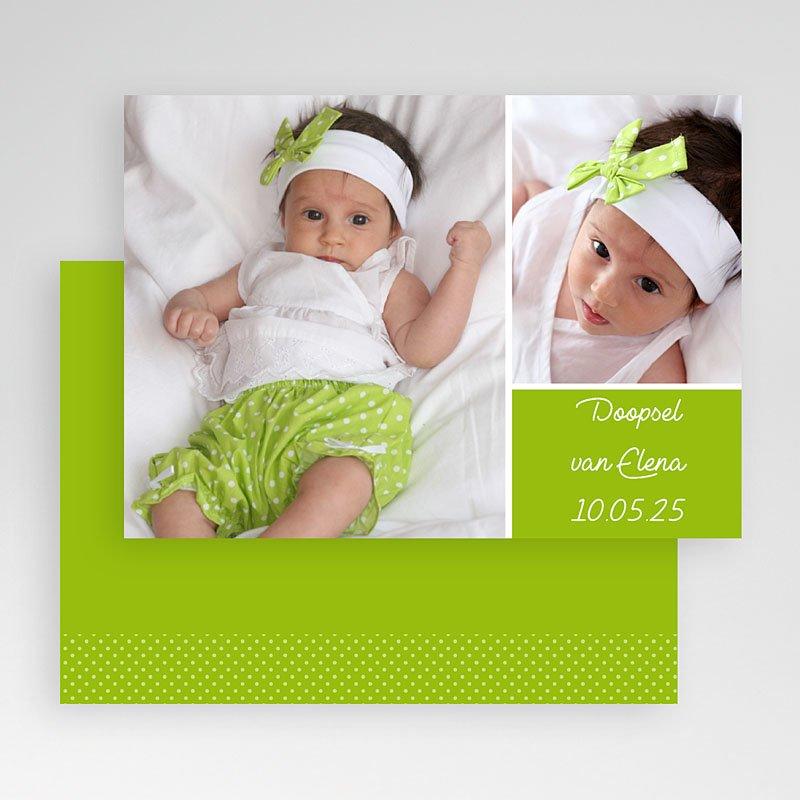 Fotokaarten met 2 foto's Groen en fris gratuit