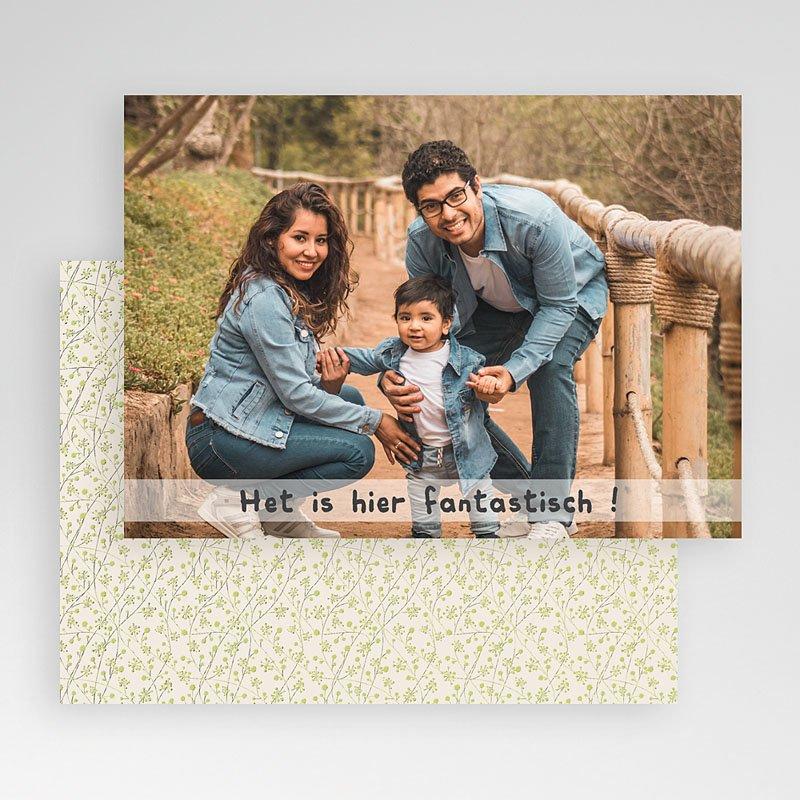 Fotokaart, 1 eigen foto - kalk effect fotokaart  19920 thumb