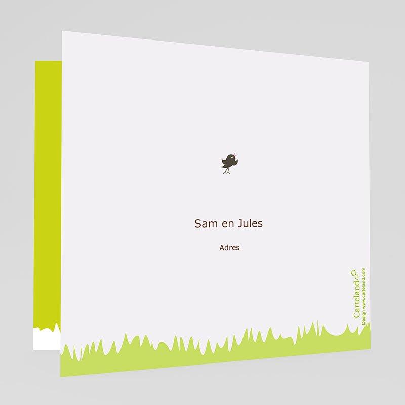 Trouwkaarten Groen - Appelbomen Lief 20142 thumb