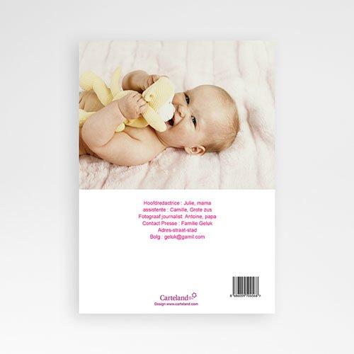 Geboortekaartje meisje - Baby cover 20278 thumb