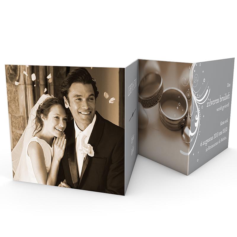 Jubileumkaarten huwelijk - Argentissime 20323 thumb