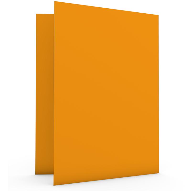 Geboortekaartje jongen - Retro oranje 20522 thumb