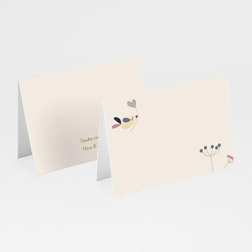 Personaliseerbare plaatskaartjes voor verjaardag - Door liefde 20555 thumb
