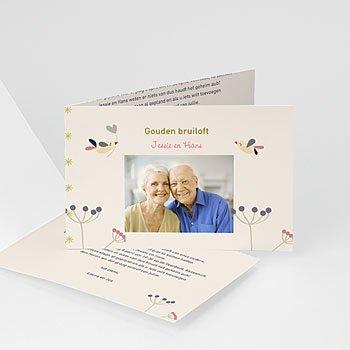Jubileumkaarten huwelijk - Door liefde - 7