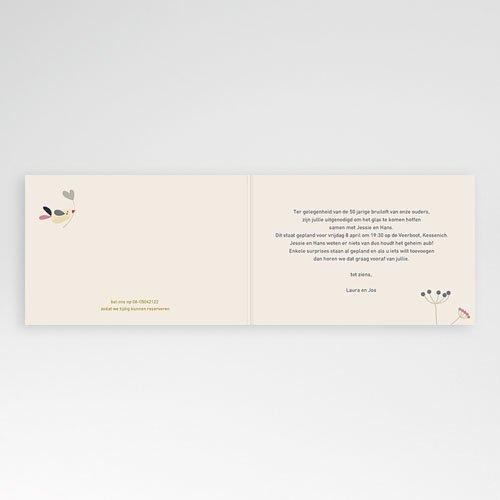 Jubileumkaarten huwelijk - Door liefde 20564 thumb
