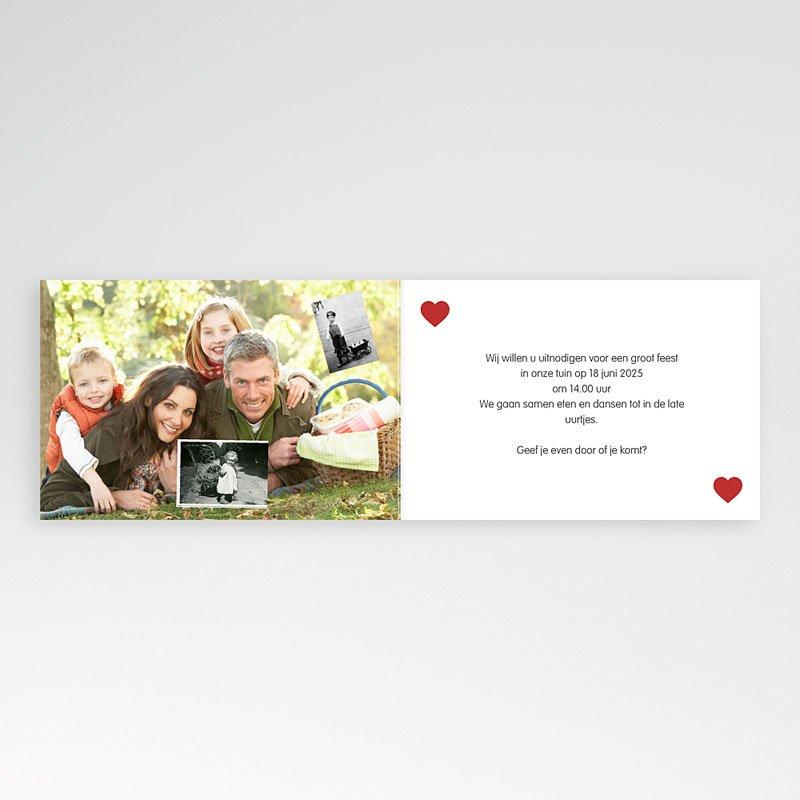 Jubileumkaarten huwelijk - Hout, Mahonie, Ceder 20597 thumb