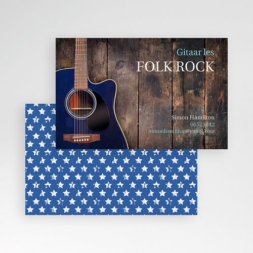 Visitekaartjes - Folk Rock  20748 thumb