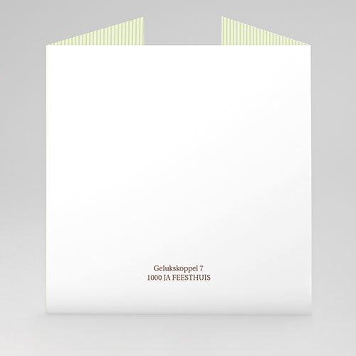 Personaliseerbare trouwkaarten - Eeuwig zoet 20898 thumb