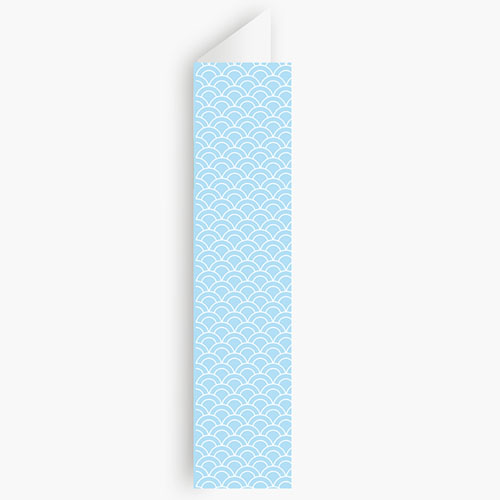 Menukaart communieviering - Communieviering lichtblauw 20956 thumb