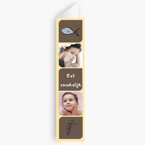 Menukaart communieviering - Foto's en symbolen 21115 thumb
