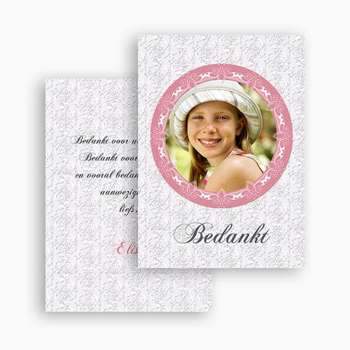 Bedankkaart communie meisje - Lief bedankje 21144 thumb