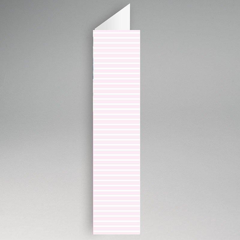 Menukaart doopviering - Maritiem, roze 21171 thumb