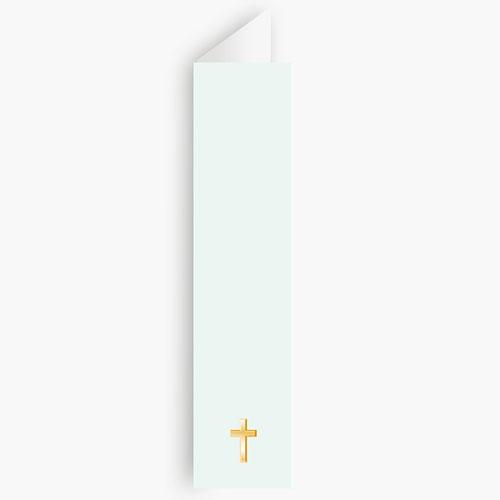 Menukaart communieviering - Licht groene communie, zoon 21198 thumb