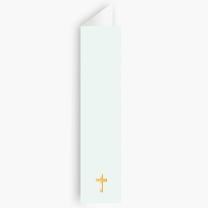 Menukaarten Communie Licht groene communie, zoon gratuit