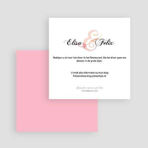 Trouwkaarten - uitnodiging huwelijk 4273 21221 thumb