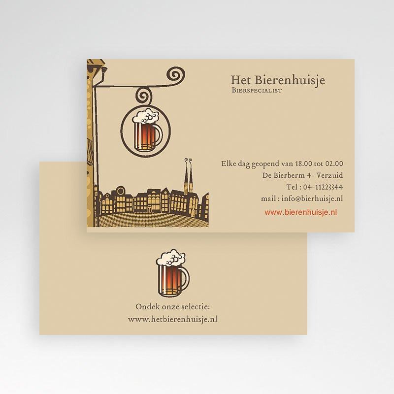 Visitekaartjes - Bierhuisje 21302 thumb