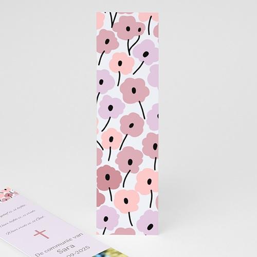 Boekenlegger - bloemrijke communie 21585 thumb