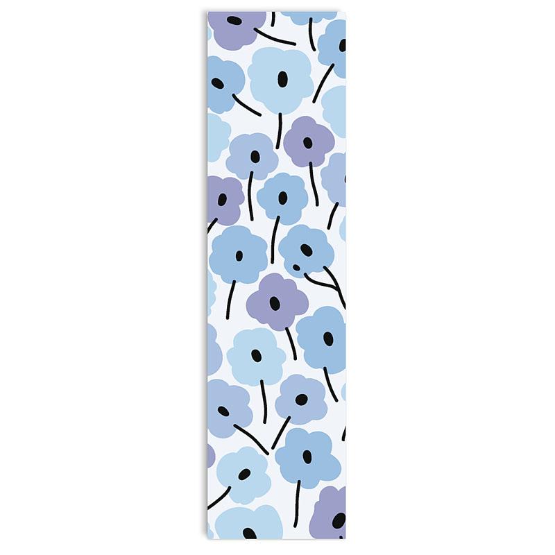 Boekenlegger - Fleurs bleues 21589 thumb