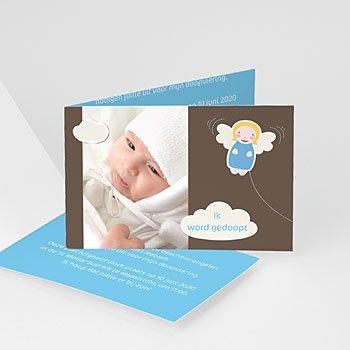 Doopkaartje jongen - doopkaart 4480 - 7