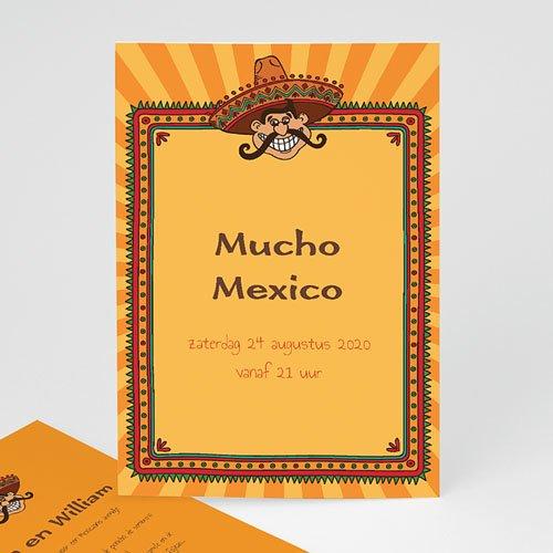 Verjaardagskaarten volwassenen - Mexicaanse Fiesta 21758 thumb