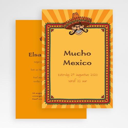 Verjaardagskaarten volwassenen - Mexicaanse Fiesta 21760 thumb