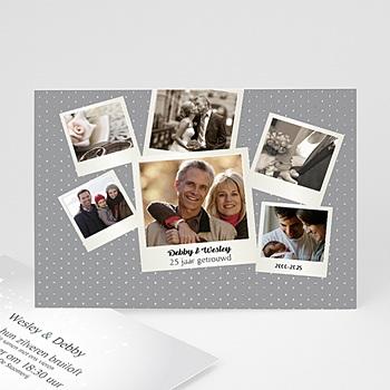 Jubileumkaarten huwelijk - feestkaart - 7