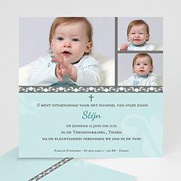 Aankondiging Doopviering doopkaart 03458