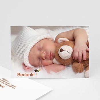 Bedankkaartje geboorte dochter - Vrije geest - 7