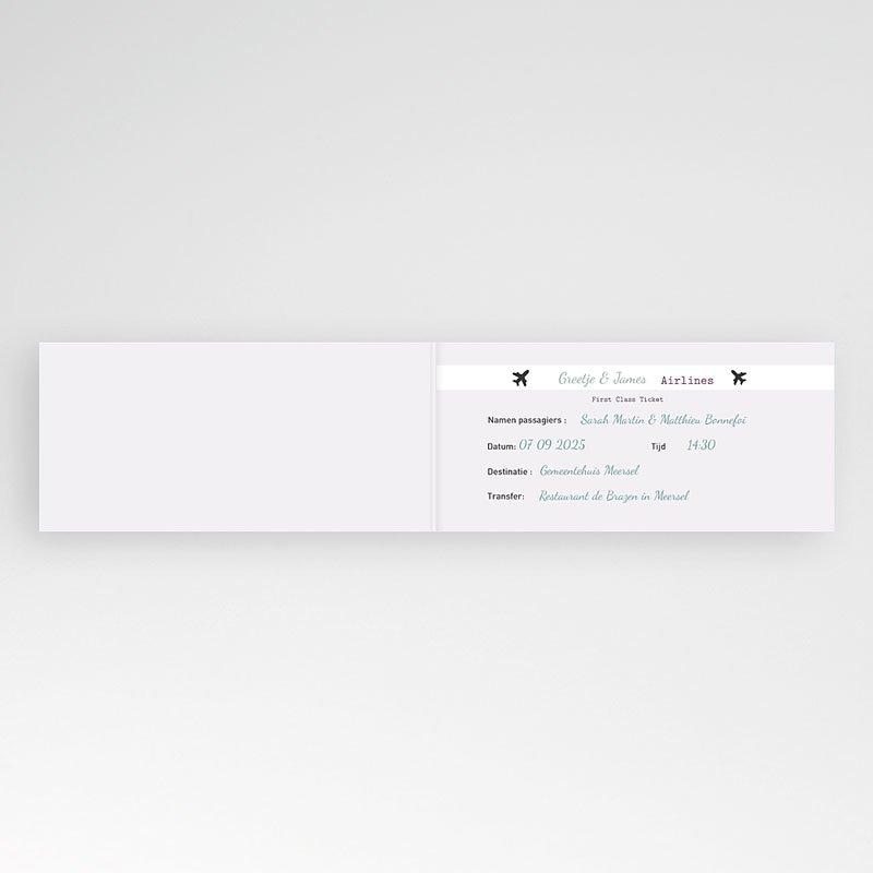 Trouwkaarten - Samen op reis 21994 thumb