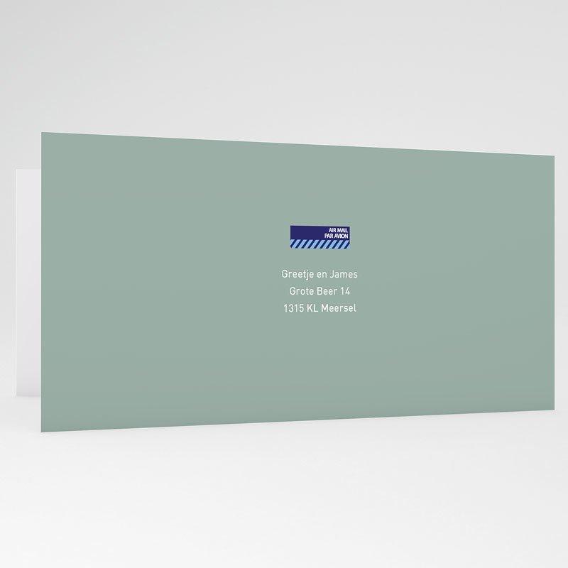 Trouwkaarten - Samen op reis 21995 thumb