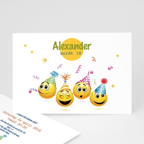 Verjaardagskaarten volwassenen - Smiley 22022 thumb