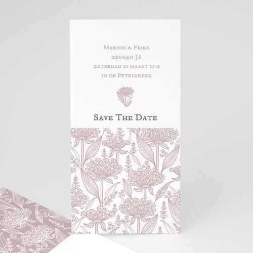 Save The Date Kaartjes Bruiloft Un air d'autrefois