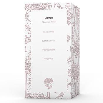 Personaliseerbare menukaarten huwelijk - Un air d'autrefois - 1