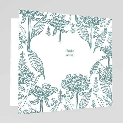 Doopkaartje jongen - Zeg 't met bloemen 22112 thumb