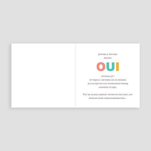 Personaliseerbare trouwkaarten - Merci bedankkaartje huwelijk 22573 thumb