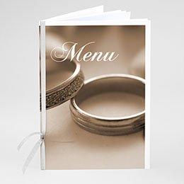 Personaliseerbare menukaarten huwelijk - Even voorstellen - 1