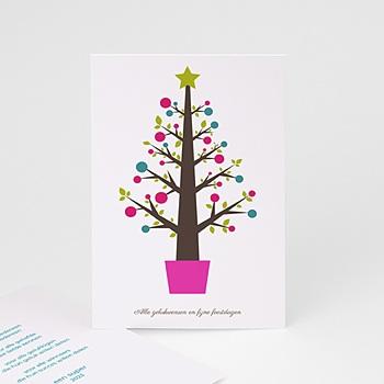 Kerstkaarten 2019 - moderne kerstboom - 1