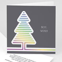 Professionele wenskaarten Nouvel An Las Vegas kerstboom