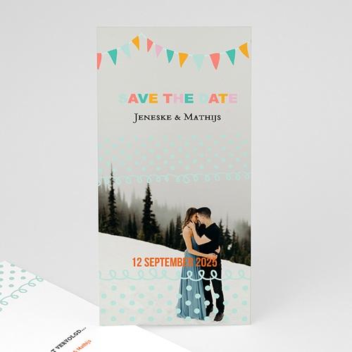 Save the date kaartjes - Merci bedankkaartje huwelijk 22946 thumb